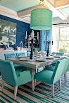 Kolor morski na stole