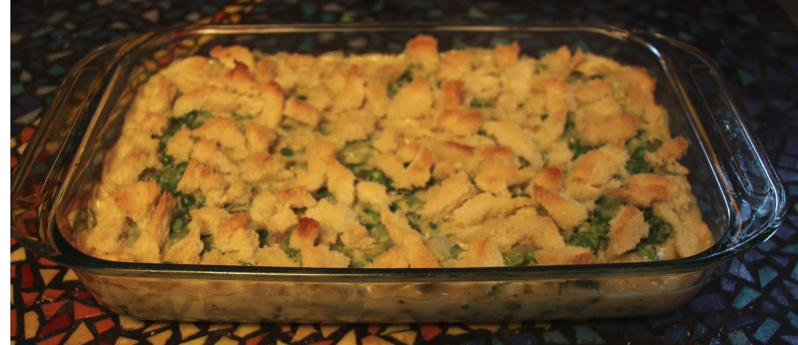 The Orange Door: Cheesy Vegetable Casserole