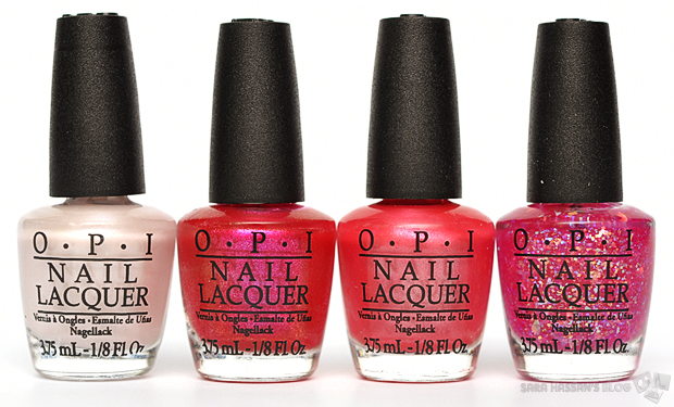 OPI Nice Stems! Summer Collection