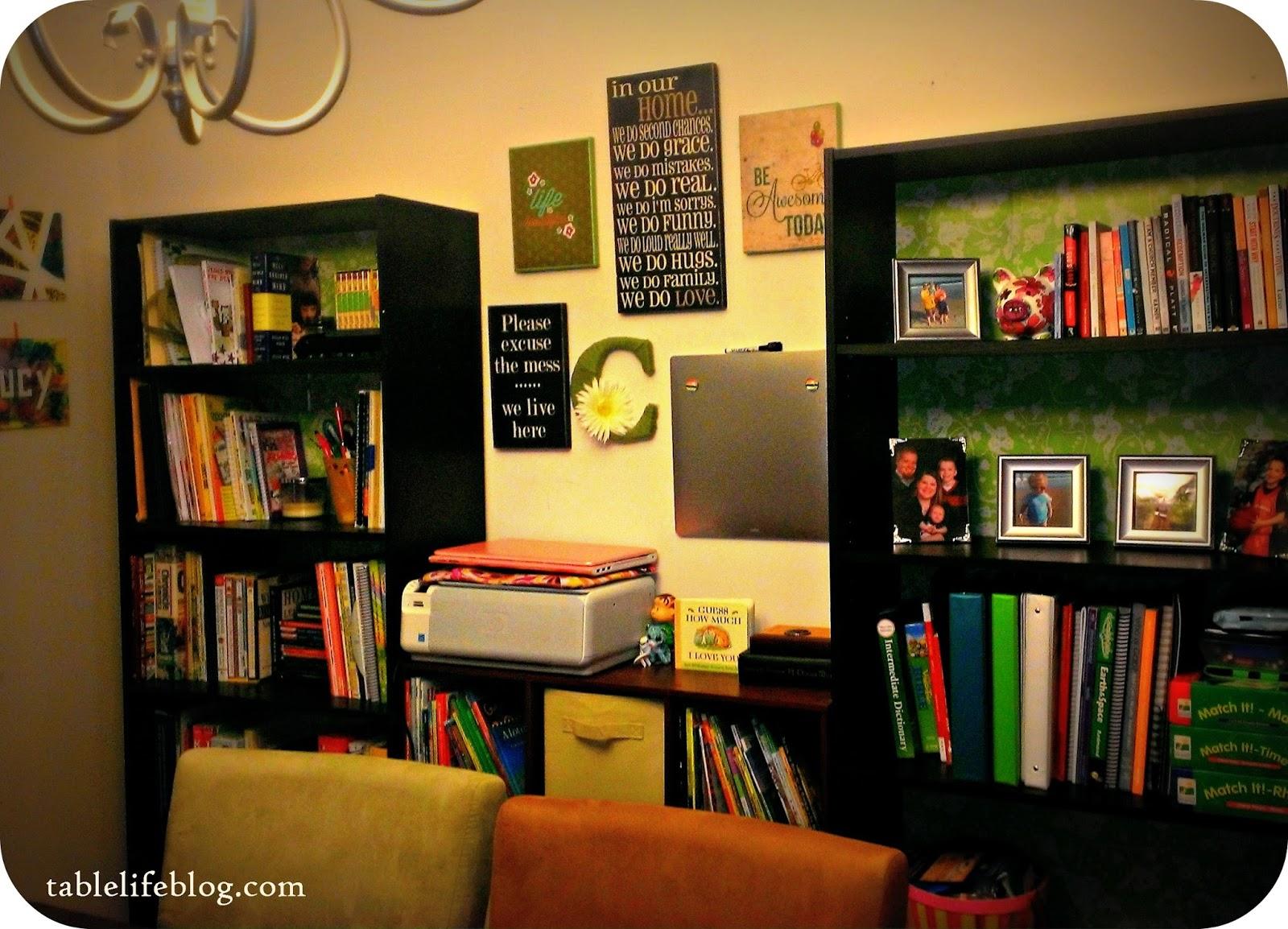 Favorite Pinterest Finds homeschool dining room decor inspiration