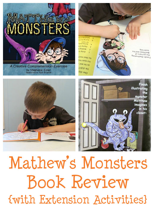 fun book and monster activities
