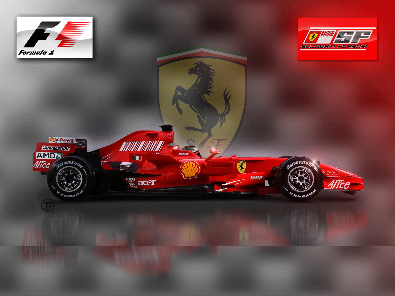 wallpaper ferrari formula 1: