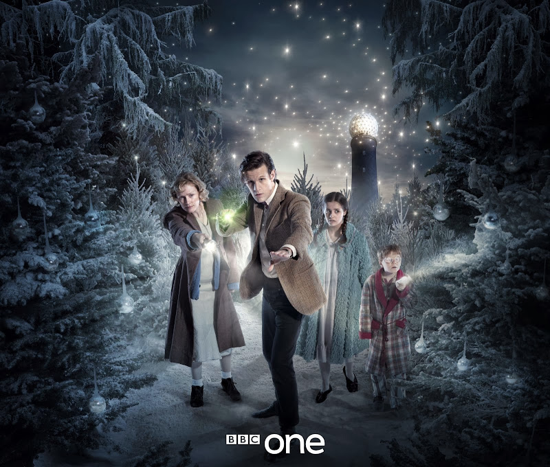 Doctor Who Christmas promo artwork  Doctor Widow Wardrobe