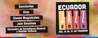 Se acerca el XII Festival Ecuador Jazz 2016 / stereojazz