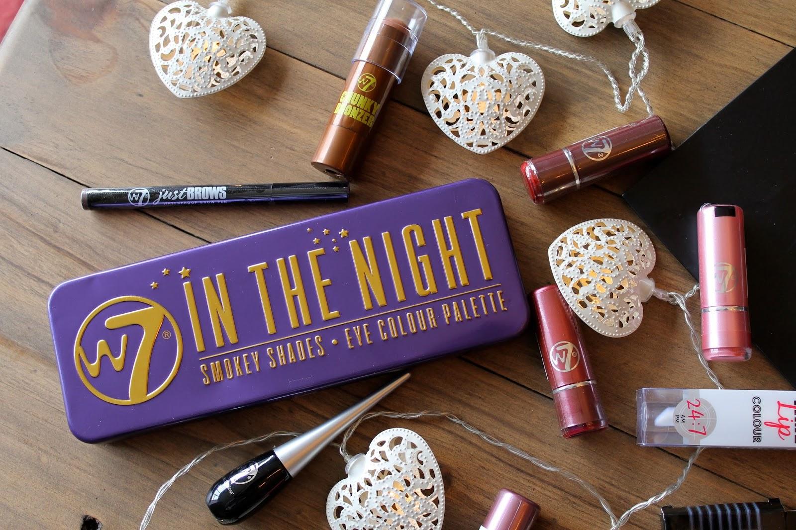 w7 makeup giveaway bec boop