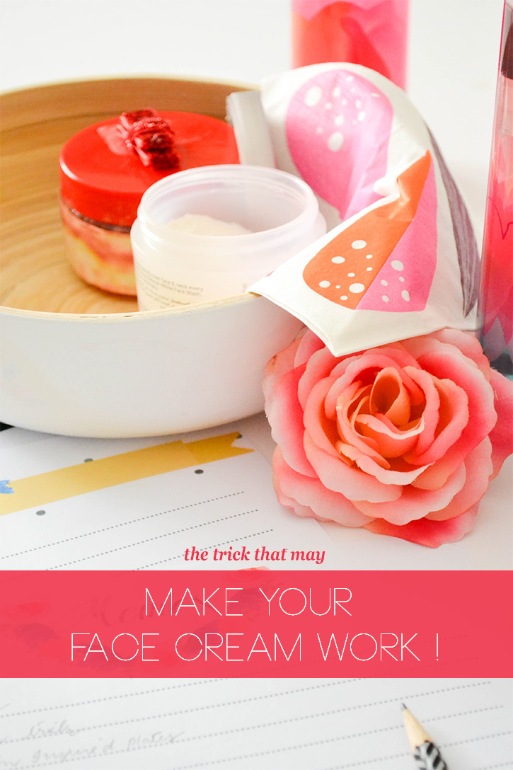 CRAFT A DOODLE DOO: The trick I use to apply face creams! Make them work for you! #diy #beauty #tips