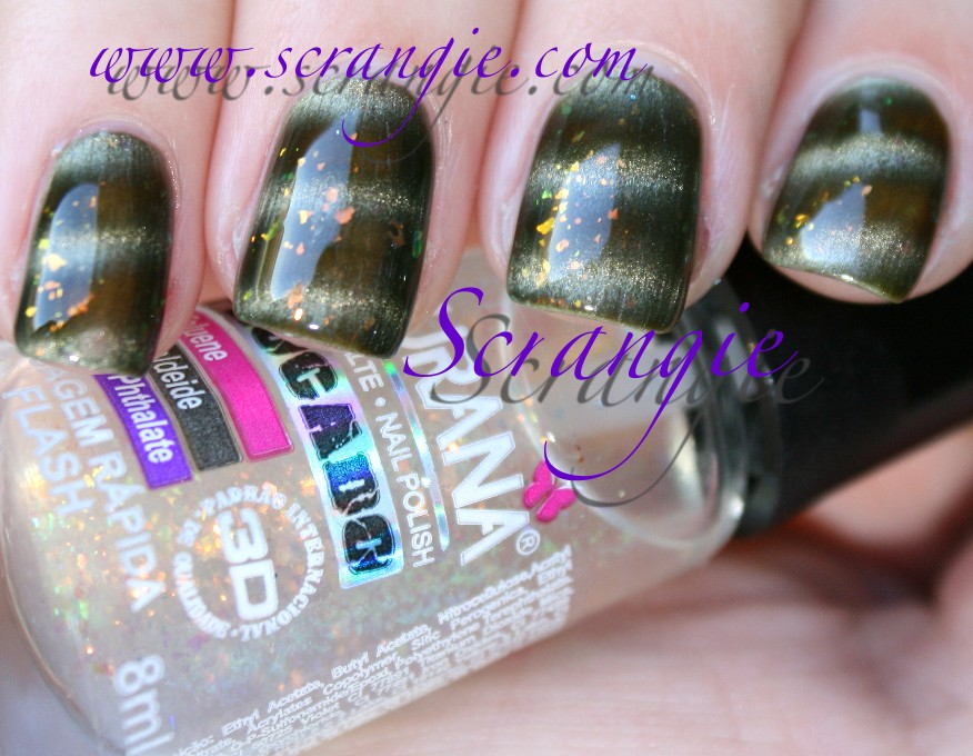 Scrangie: Layla Magneffect Golden Nugget with Ludurana Flash