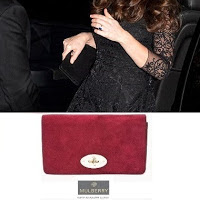 Kate Middleton wore MULBERRY Clutch Bag