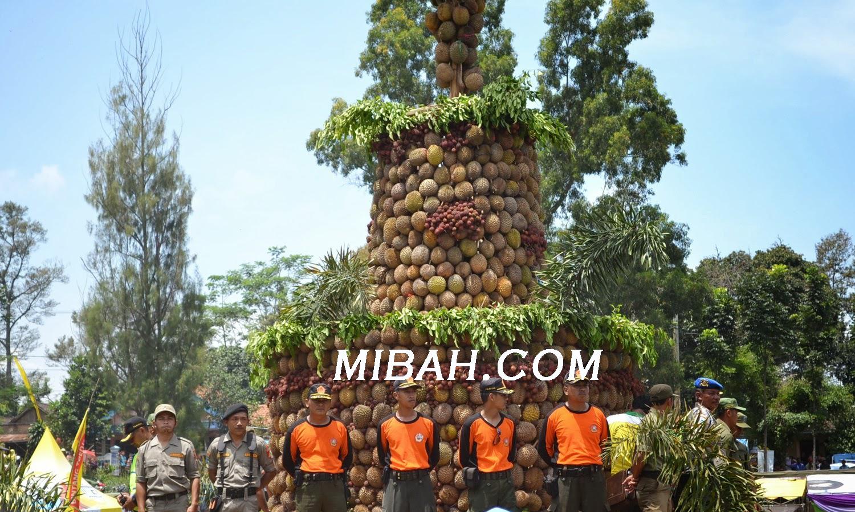 gambar Pesta durian wonosalam