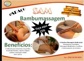 Marque já uma Bambumassagem