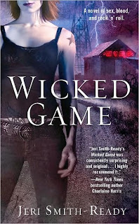 Portada original de Wicked Game. Sexo, sangre y Rock 'n' Roll, de Jeri Smith-Ready