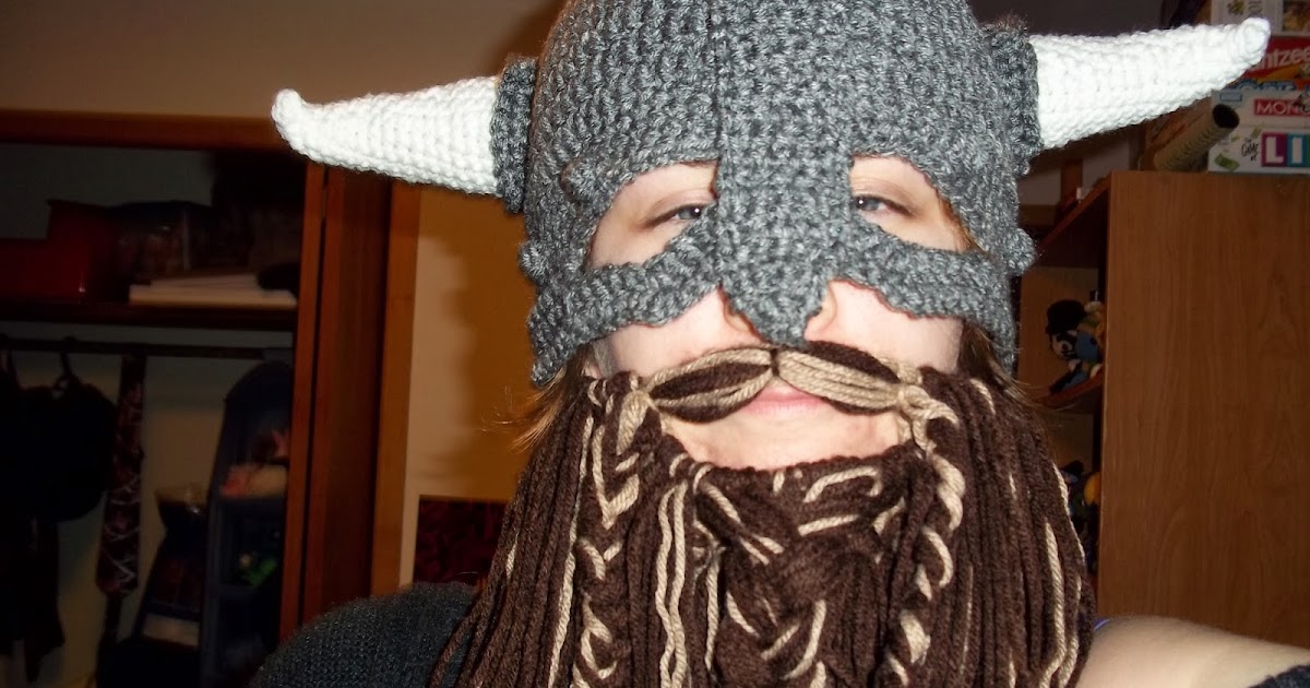 Eden Is Only A Dream Away Viking Hat With Beard