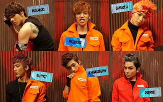 TEEN TOP Miss Right prison jail alter egos names