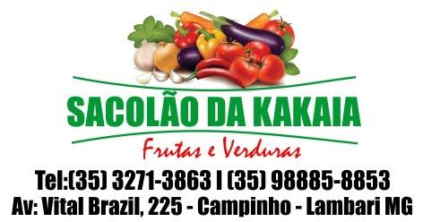 SACOLÃO DA KAKAIA