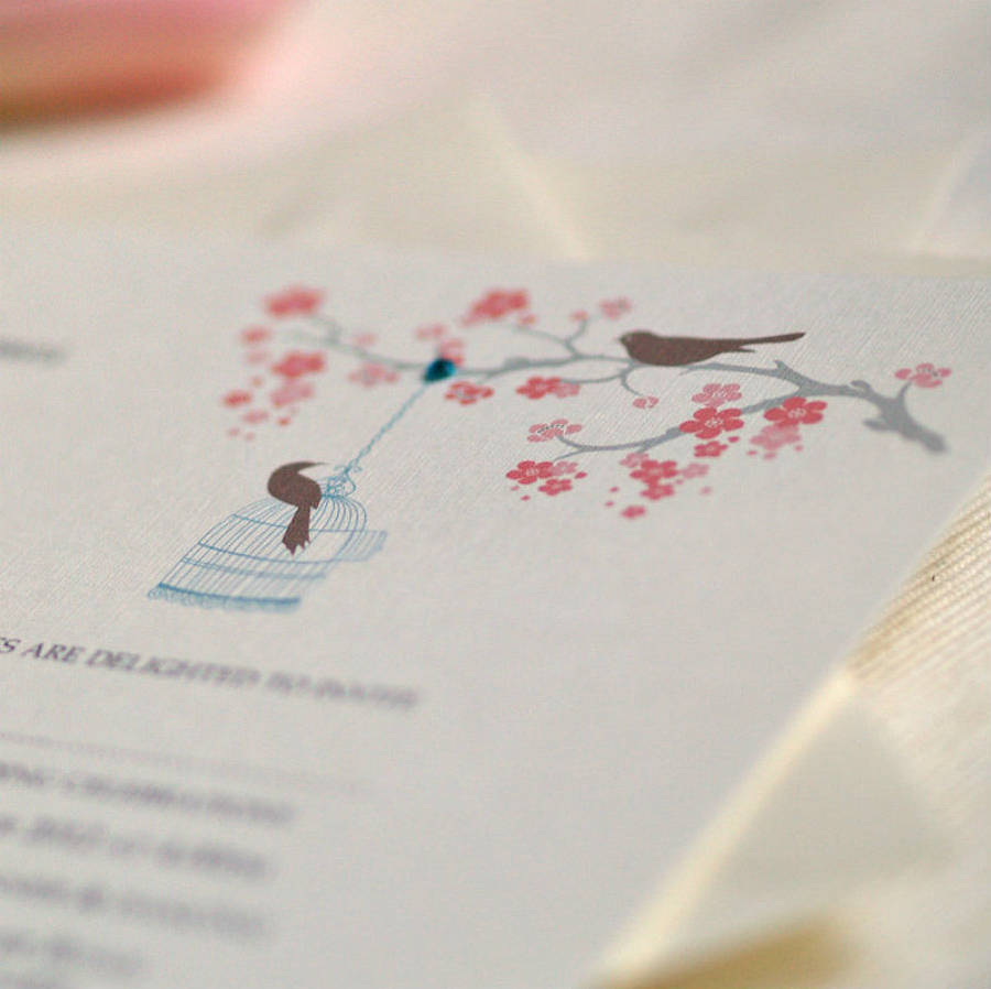 Bird In Everything: Love Bird Themed Wedding Ideas