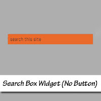 search box widget