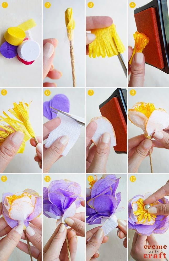 Цветы из своими руками с пошаговым фото для начинающих