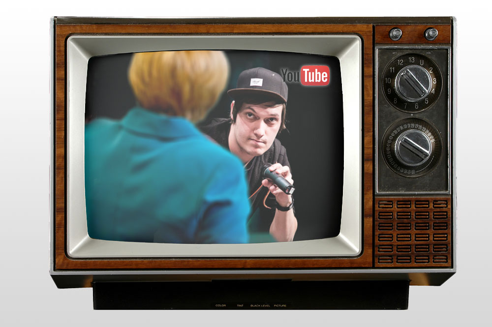 Angela Merkel hopes that YouTube radiates her LeFloid interview to Prime Time