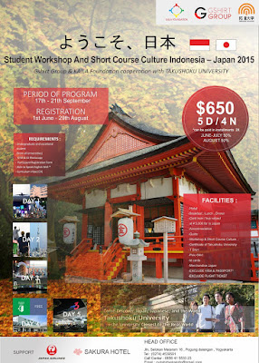 Student Exchange Indonesia-Japan 2015 www.guntara.com
