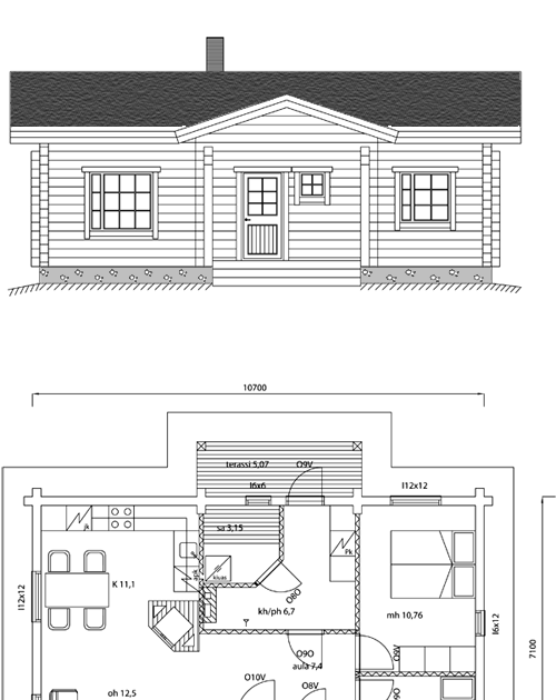 Viviendas unifamiliares arquitectura y construccion casa for Arquitectura y construccion