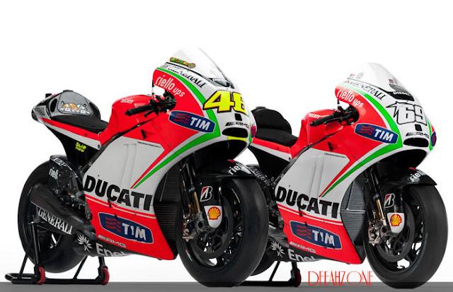 Motor Valentino Rossi (MotoGP 2012) | Ducati Desmosedici GP12