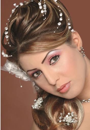 اجمل تسريحات شعر للعرائس روعه 41852b02c2