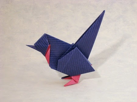Easy Origami Birds 3d Origami For Kids