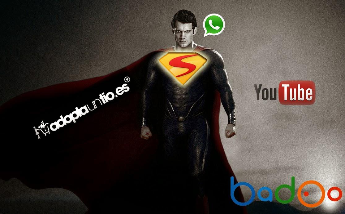 ligar en badoo, adoptauntio y whatsapp