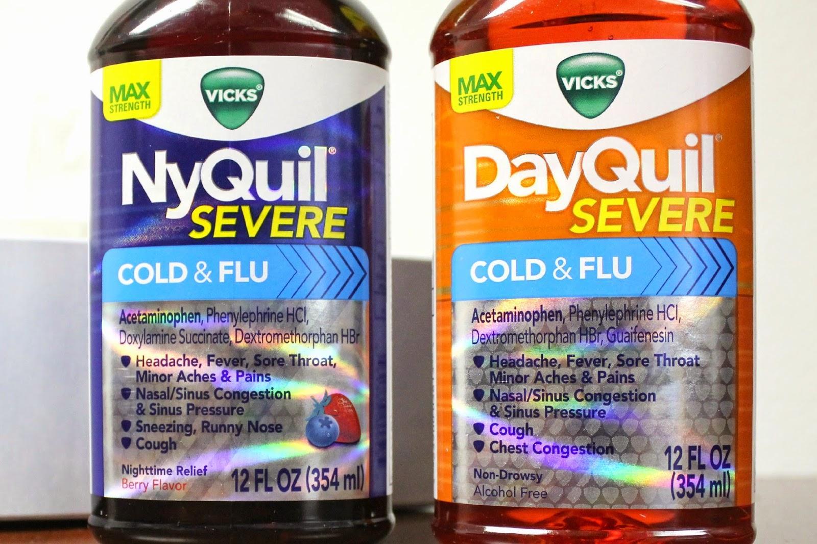 Be prepared for cold and flu season with Vicks DayQuil and NyQuil! #ReliefisHere #ad