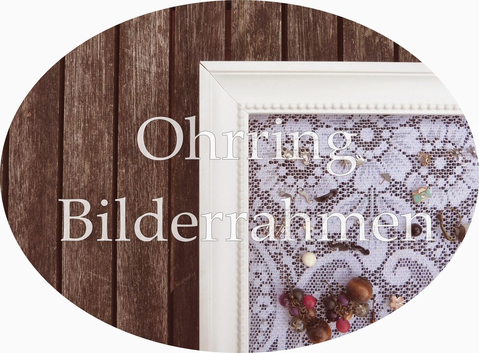 blue hideout diy ohrring aufbewahrung. Black Bedroom Furniture Sets. Home Design Ideas