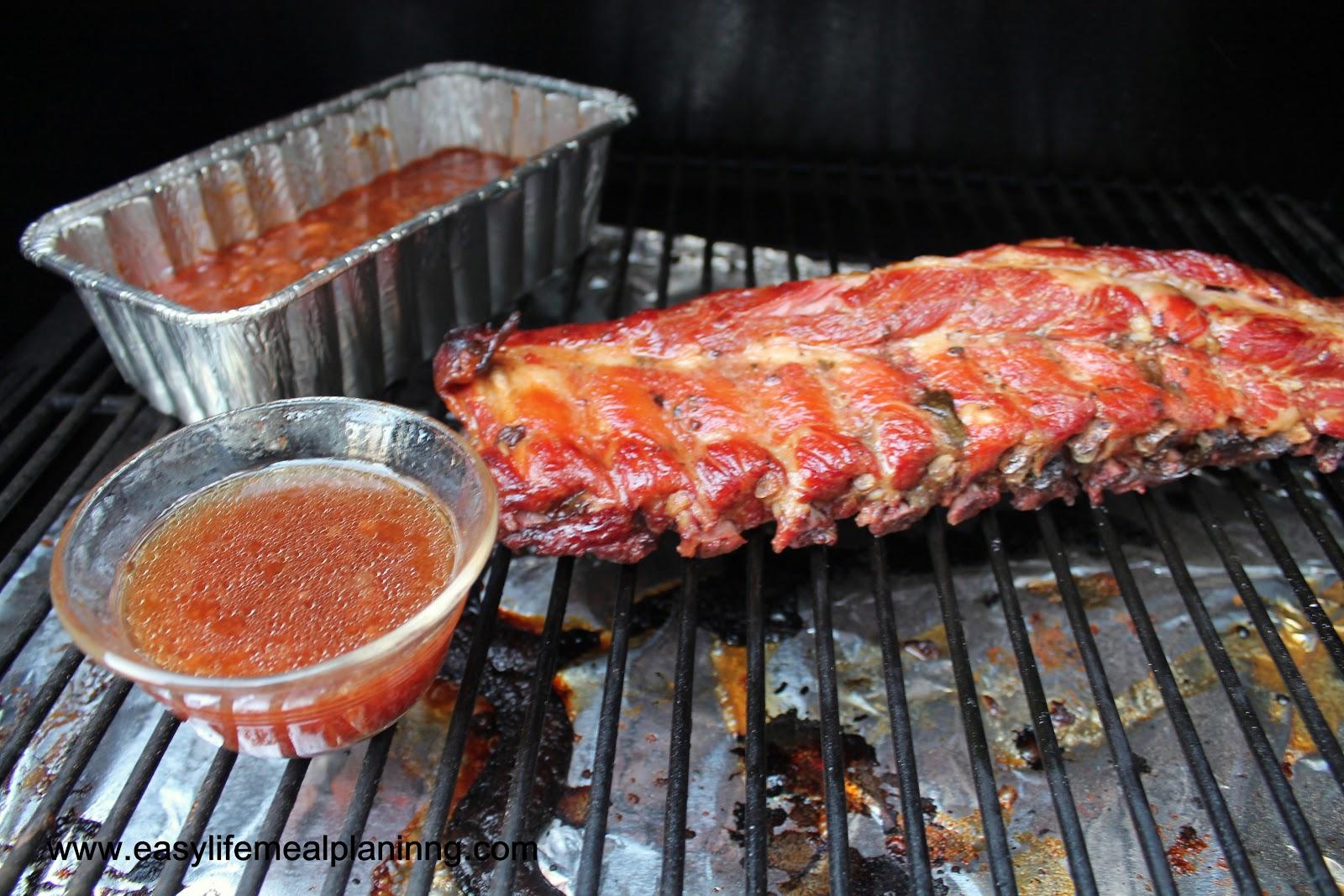 Smoked Warm Honey & Brown Sugar Glazed Baby Back Ribs - Easy Life Meal ...