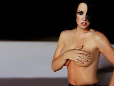 Jenny McCarthy Topless Wallpaper