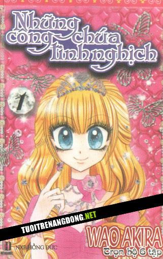 1 Tuoitrenangdong.NET Comic Những công chúa sành điệu   Tập 1