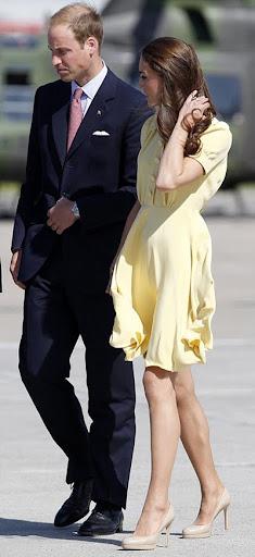 Уилям и Кейт в Калгари