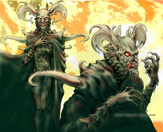 Necromancer por Kipestshin