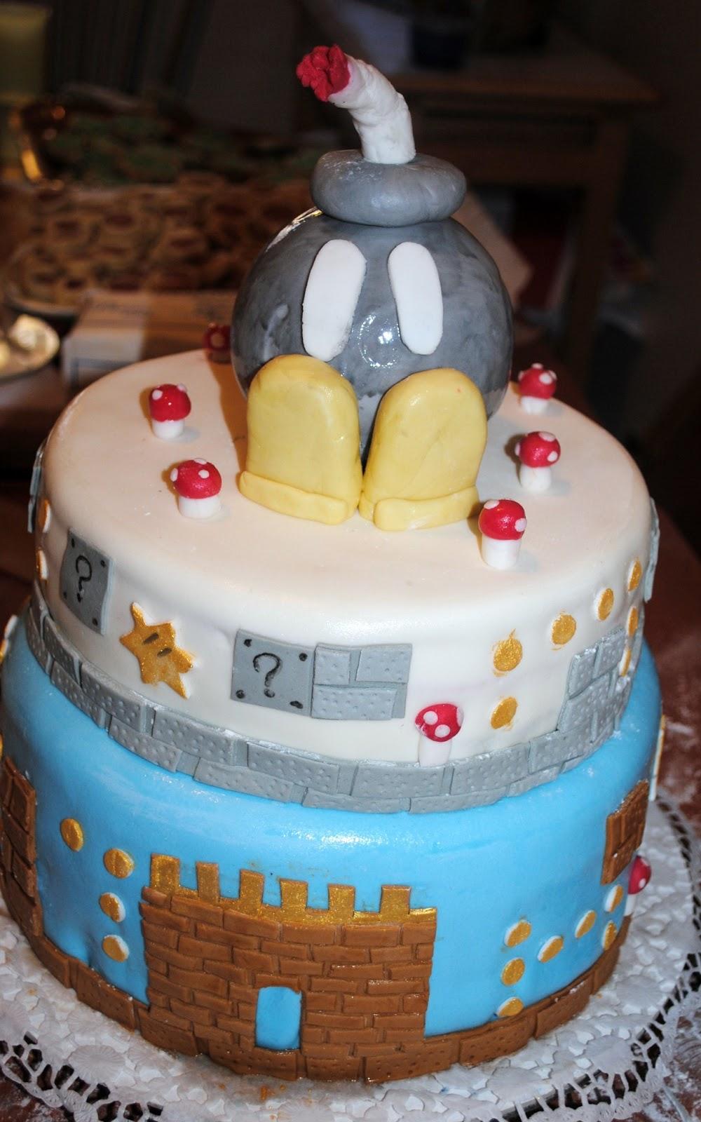 In cucina con gusto torta super mario bros - Prevenire in cucina mangiando con gusto ...