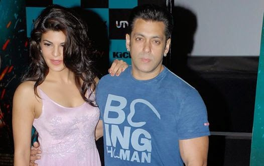 Salman Khan & Jacqueline during launch of new song 'Jumme ki Raat' of their upcoming film 'Kick'
