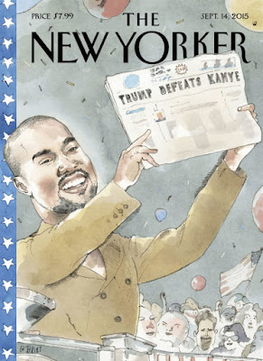 Kanye West Covers The New Yorker Magazine