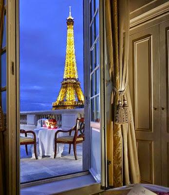 Hotel Paris Aussicht Eiffelturm