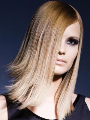 elegante pelo mujer