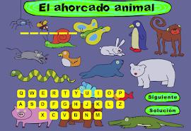 JUEGO AHORCADO CON ANIMLES