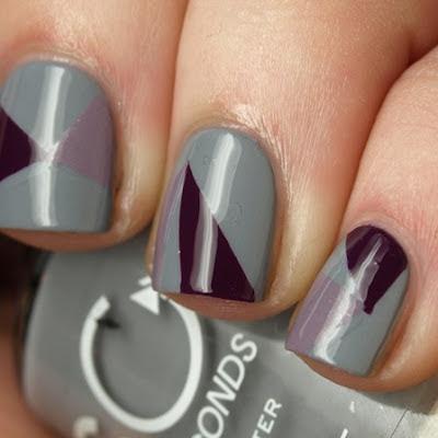 como pintar uñas con diseños