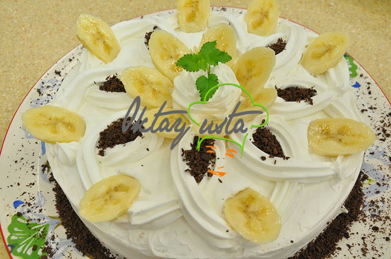 Muzlu Çikolatalı Pasta Tarifi Yapımı