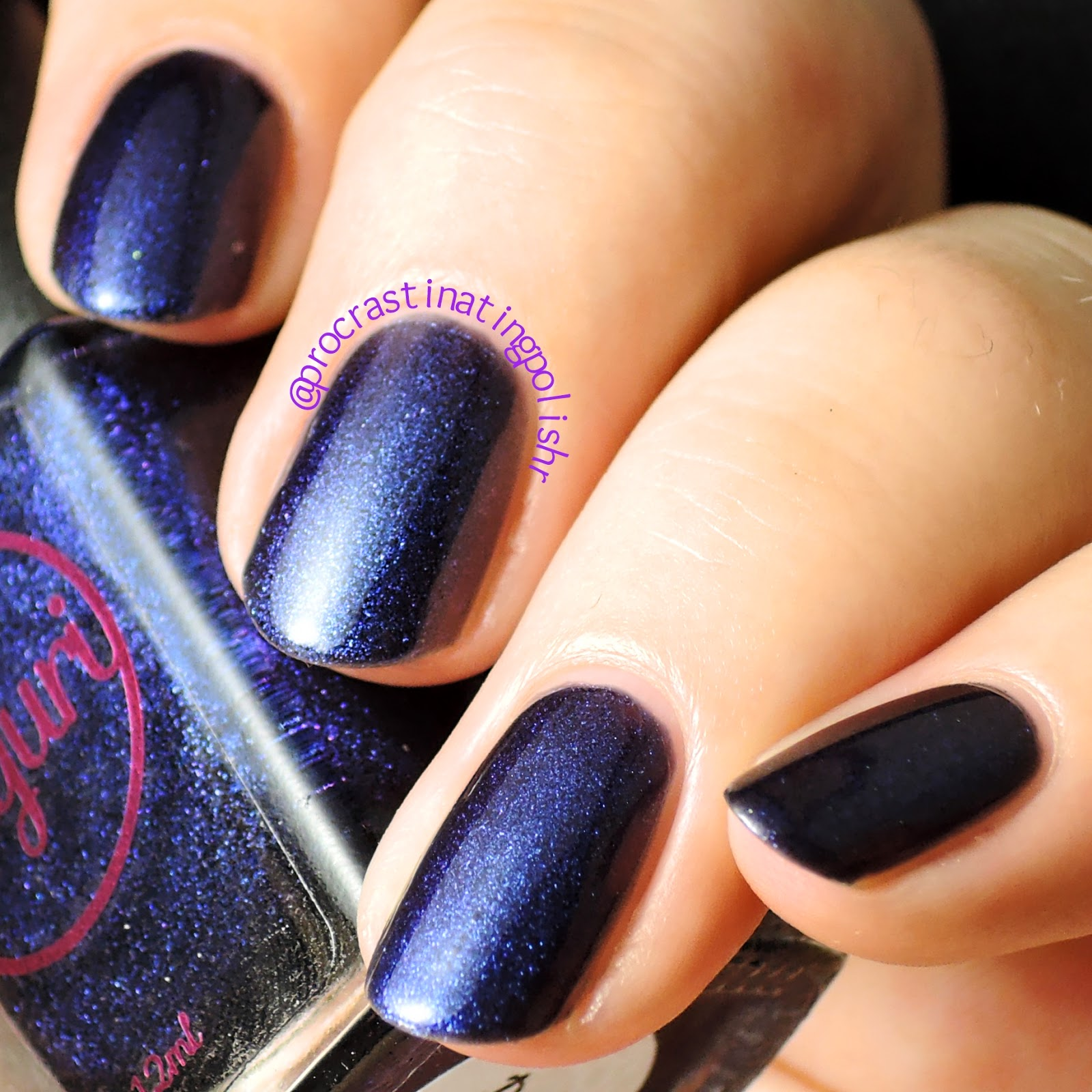 Sayuri Nail Lacquer - Dark Intent swatch