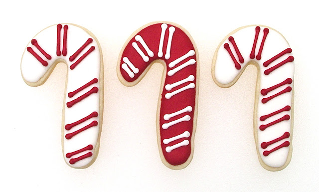 Candy Cane Cookies at The Ginger Cookie