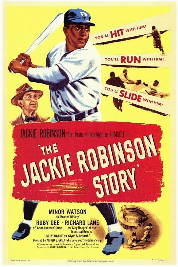 Portada película La historia de Jackie Robinson