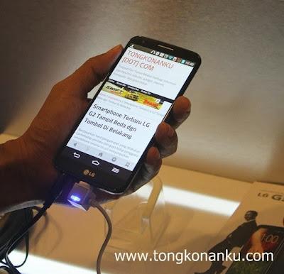 Tongkonanku.com numpang narsis di LG G2