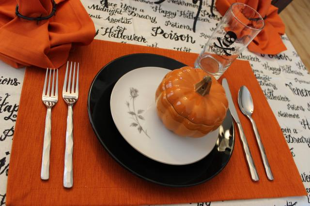 Halloween Birthday Tablescape