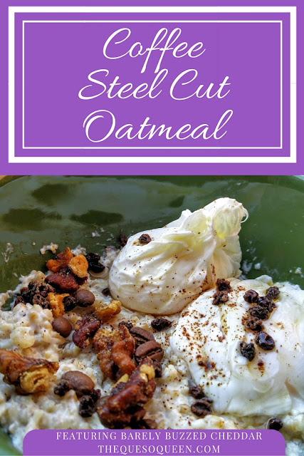 Coffee steel cut oatmeal