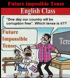 Funny Future Impossible Tense